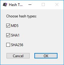 2 hashes